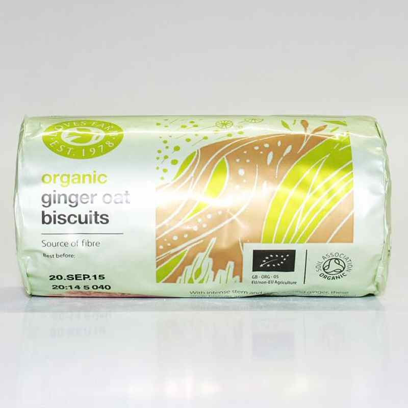 Doves Farm Ginger Oat Biscuits 200G